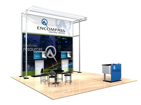 trade show booth design graphics internlink plus 20x20 turn key trade show booth design 1179