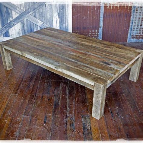 Barn Wood Coffee Table Custom Solid Barn Wood Coffee Table By Heirloom Llc Custommade