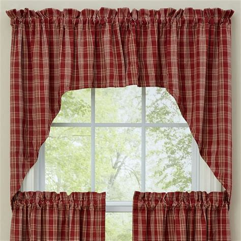 lined swag curtains barnside lined window curtain swag 72 quot x 36 quot
