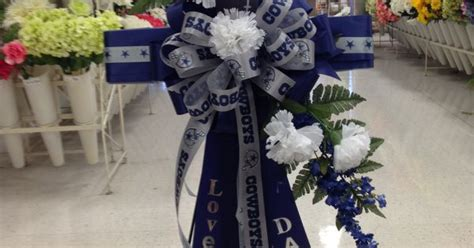 dallas cowboys cross  fathers day  florals atmichaels store  shreveport la