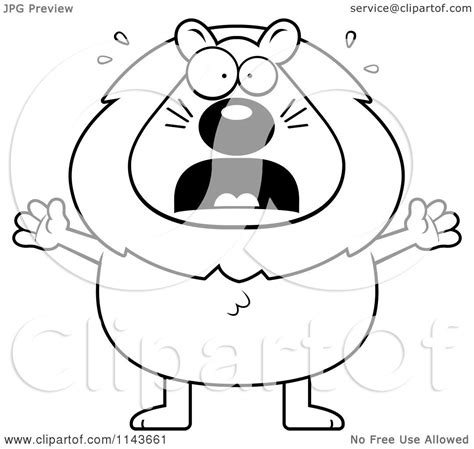 scary lion coloring page scary lion cartoon