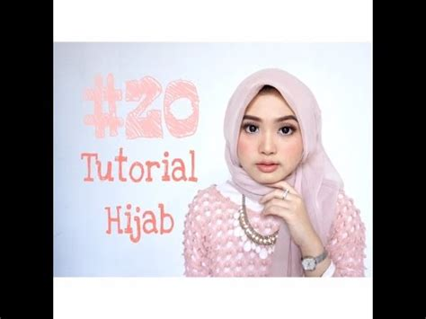 tutorial hijab paris kantor 20 tutorial hijab segi empat paris kantor daily wisuda