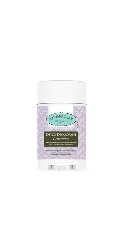 Living Deodorant Detox by Buy Living Clay Co Detox Deodorant Lavender At Well Ca