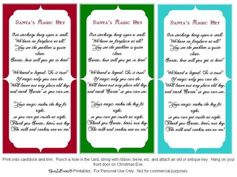 printable santa key template search results for secret santa poem printables free