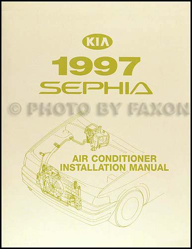 automotive air conditioning repair 1996 kia sephia electronic throttle control 1997 kia sephia air conditioner installation manual original