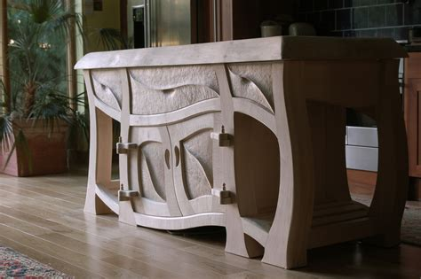 Handmade Bespoke Furniture - naturalistic bespoke kitchens bespoke furniture design