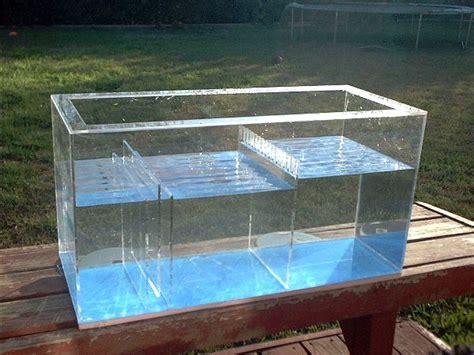 aquarium return design model quot e quot sump melev s reef inc