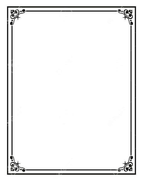 Template Border Template For Word Documents Border Templates Free