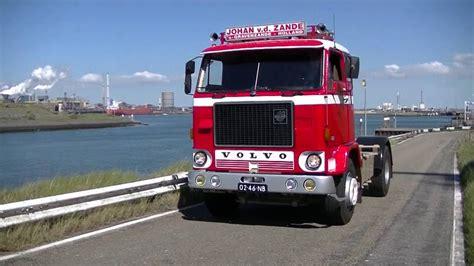 volvo truck ad historische volvo trucks in ijmuiden