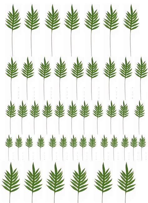 printable miniature leaves packpalmera jpg 794 215 1096 dollhouse miniature tutorials