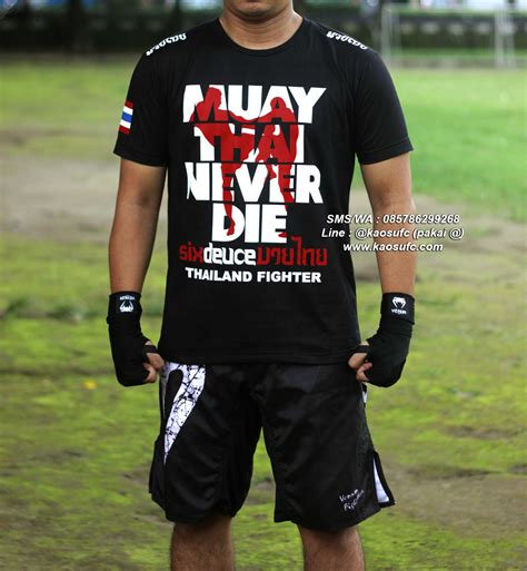 Kaos Mantab jual kaos muay thai murah hanzo elite fight gear kaosufc