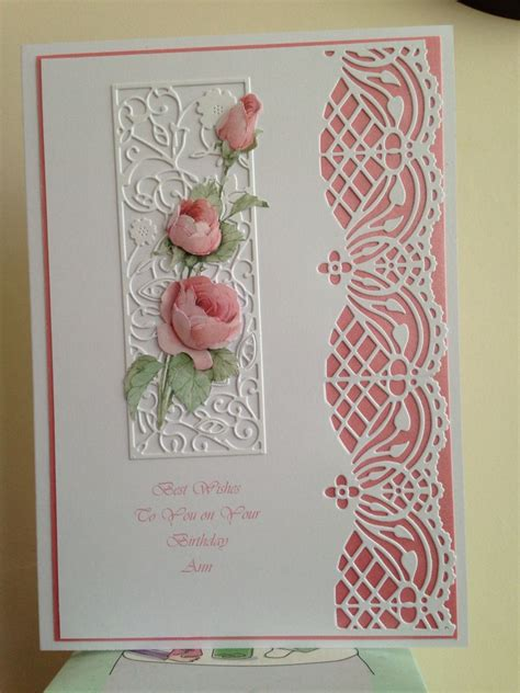 Handmade Die Cut Cards - wedding cards on wedding cards handmade
