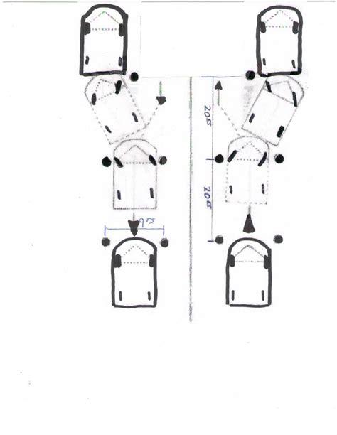ohio maneuverability test diagram county driver maneuverability practice