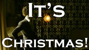 sherlock holmes christmas gif find share on giphy
