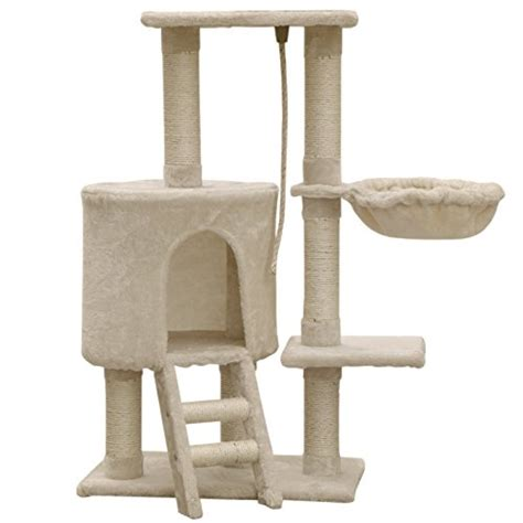 Cat Friendly Home Design firstwell cat tree condo tower with scratching posts kitty