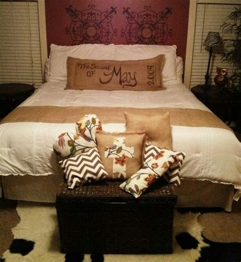 Burlap Bedding Sets Burlap Bed Set For The Home Pinterest