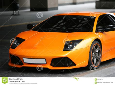 orange sports cars sports orange car stock image image 10916731
