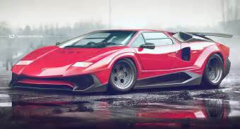 Lamborghini Countach Lamborghini Countach Sv Sparks Mixed Emotions
