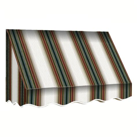awnings san francisco awntech 10 ft san francisco window awning 31 in h x 24 in d in sage linen cream