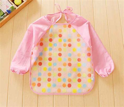 Celana Bayi Tahan Air jual baju bayi baby tahan air bib transparan lengan panjang kaijin store