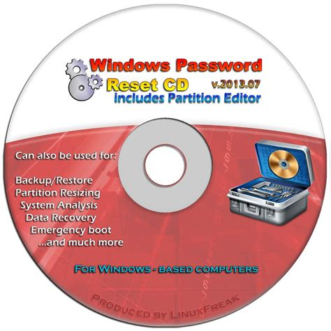 windows password reset disc download windows password reset recovery disk free download