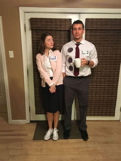 office halloween costume jim  pam couple