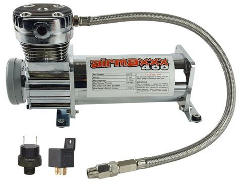 air compressor chrome airmaxxx   air bag suspension