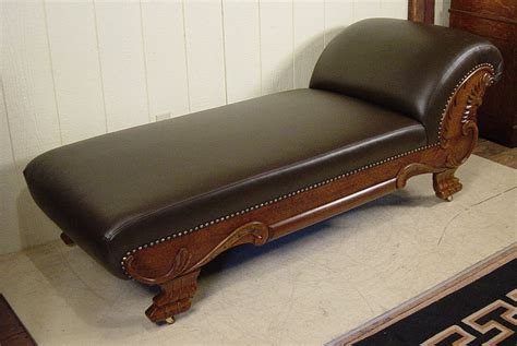 faiting couch oak fainting couch