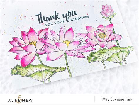watercolor lotus tutorial video may 2017 inspiration challenge watercolor lotus