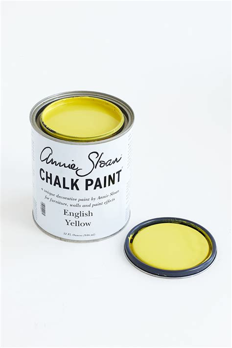 chalk paint buy buy yellow chalk paint 174 by sloan for sale