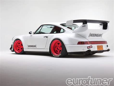 hoonigan porsche 1991 porsche 911 turbo hooned 911 eurotuner magazine