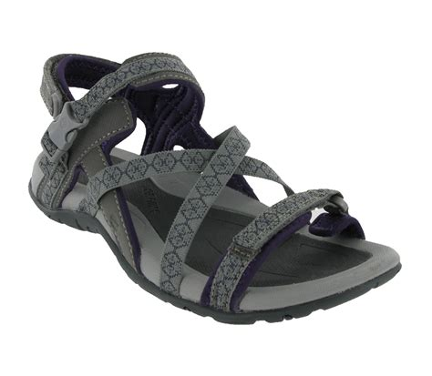 sports sandals uk new womens hi tec premilla grey sports walking