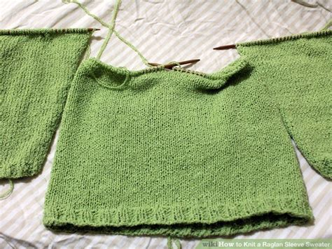 how to seam a knitted sweater how to knit a raglan sleeve sweater 12 steps with pictures