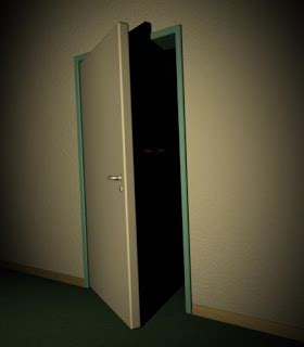 Closet Light Turns On When Door Opens by Tambowrites Creepy Closets