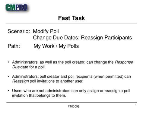 doodle poll change response cmpro fast task modifying polls