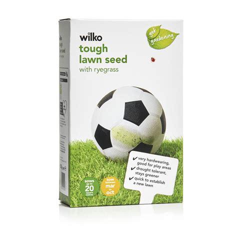 wilko tough lawn seed 500g