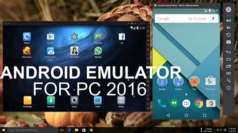 android for pc top 5 best android emulator for pc