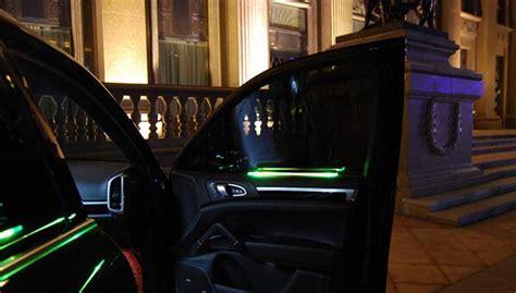 Solar Interior Lights Solar Car Door Decorative Lights Interior Ambient Lighting