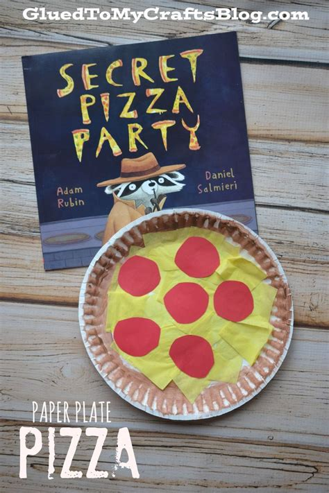 Paper Plate Food Crafts - best 25 pizza craft ideas on preschool food