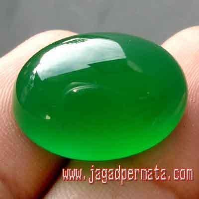Batu Permata Asli Green Chalcedony Kode Bpa 08 green chalcedony batu akik