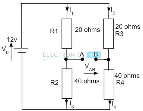 wheatstone bridge circuit theory exle and applications