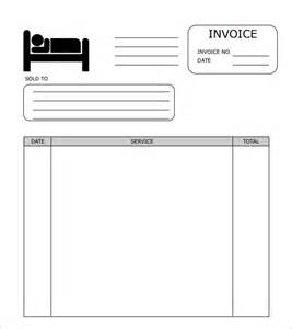 free hotel templates sle hotel receipt template 8 free documents