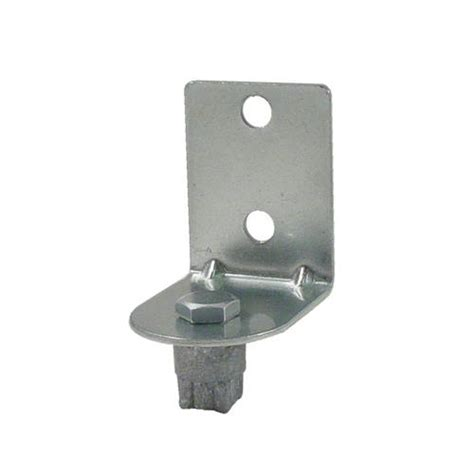 commercial post mount shelf bracket set etundra