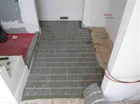 bathtub heater mat electric radiant floor heat