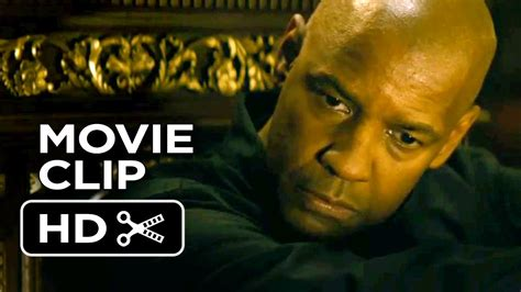 denzel washington latest movie youtube the equalizer extended movie clip here for the girl 2014