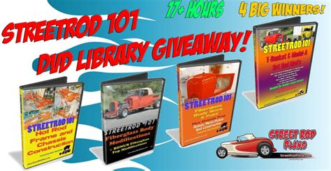 Library Giveaways - street rod 101 dvd library giveaway tbucketplans com