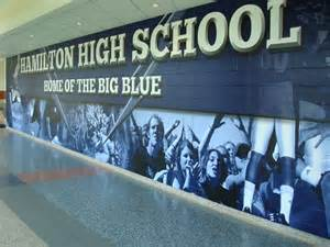 Wall Murals For Schools Hamilton High School 2013 November