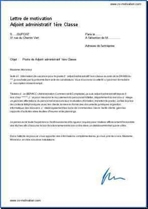 Lettre De Motivation De Assistant Administratif Application Letter Sle Modele De Lettre De Motivation Pour Emploi Administratif