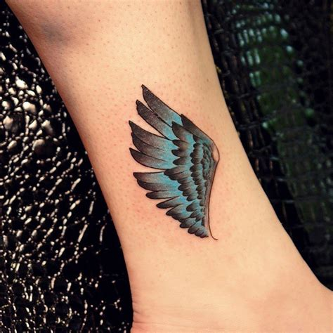 65 Best Angel Wings Tattoos Designs Meanings Top Small Wing Tattoos On Back