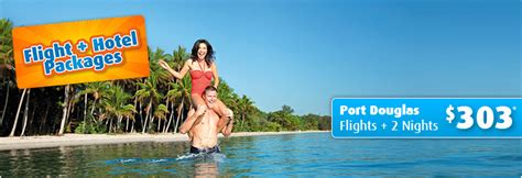cheap flight package deals australia wide flights hotel
